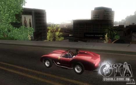 Ferrari 250 Testa Rossa para GTA San Andreas esquerda vista