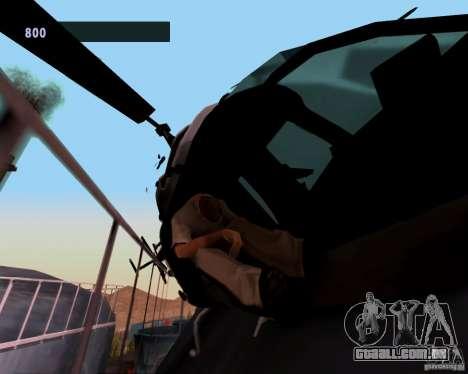 Pilotos de helicópteros para GTA San Andreas segunda tela