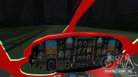 Medicopter 117 para GTA 4 vista interior