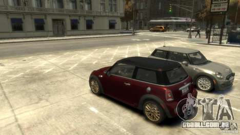 Mini John Cooper Works 2009 para GTA 4 esquerda vista