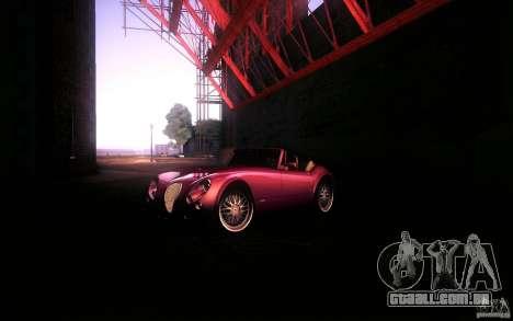 Wiesmann MF3 Roadster para GTA San Andreas vista direita