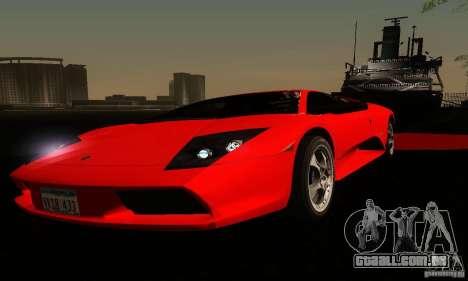 Lamborghini Murcielago para GTA San Andreas vista inferior