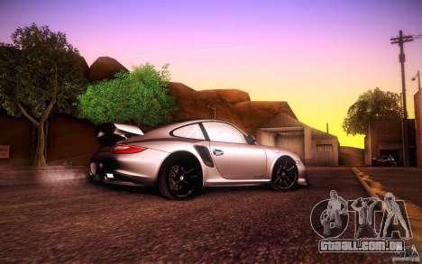 Porsche 911 GT2 RS 2012 para GTA San Andreas vista traseira