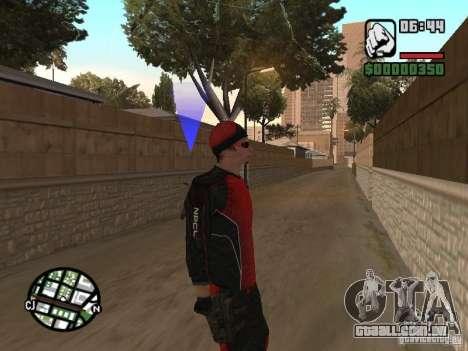 Skydiver para GTA San Andreas terceira tela