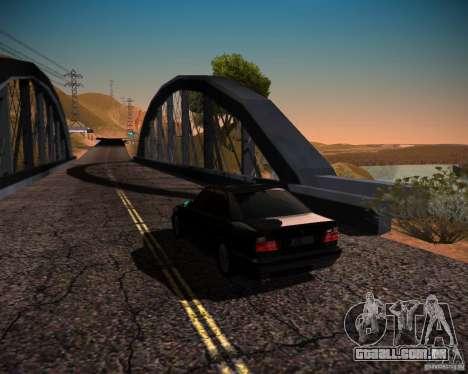 ENBSeries V4 para GTA San Andreas por diante tela