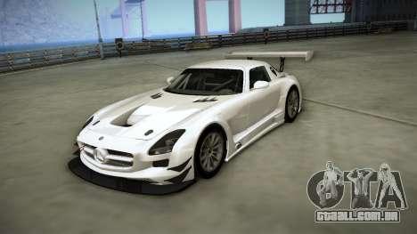 Mercedes-Benz SLS AMG GT3 para GTA San Andreas vista interior