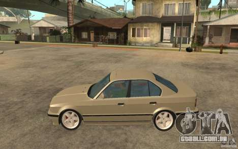 BMW 535i e34 AC Schnitzer para GTA San Andreas esquerda vista