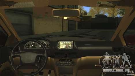 Toyota Corolla G6 Compact E110 EU para GTA San Andreas vista direita