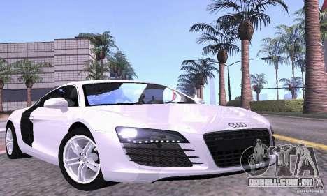Audi R8 4.2 FSI para GTA San Andreas interior