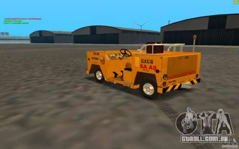 Airport Service Vehicle para GTA San Andreas