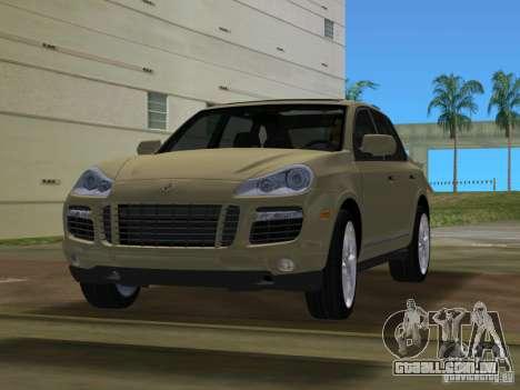 Porsche Cayenne Turbo S para GTA Vice City