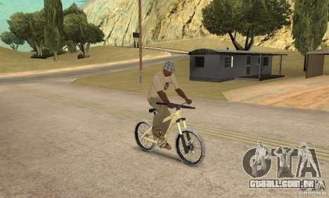 Specialized P.3 Mountain Bike v 0.8 para GTA San Andreas vista direita