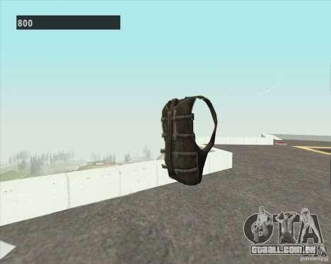 Black Ops Parachute para GTA San Andreas segunda tela