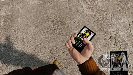 O tema de Mercenaries 2 para telefones móveis para GTA 4