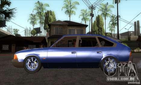 2141 AZLK pessoas edição para GTA San Andreas esquerda vista
