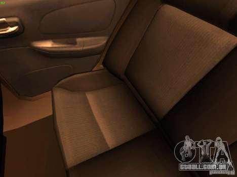 Dodge Neon SRT4 2006 para vista lateral GTA San Andreas