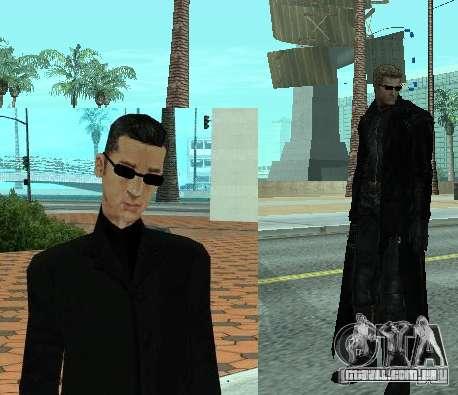 Pak personagens de Resident Evil para GTA San Andreas terceira tela
