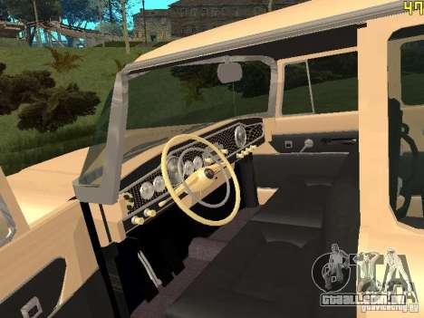 GÁS 13 para GTA San Andreas vista traseira