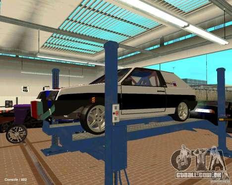 VAZ 2108 Drag para o motor de GTA San Andreas