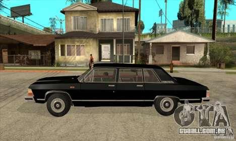 GAZ 14 Chaika para GTA San Andreas esquerda vista