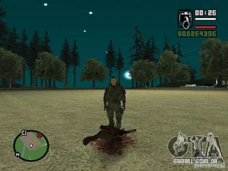 Chupacabra para GTA San Andreas oitavo tela