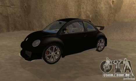 Volkswagen Bettle Tuning para GTA San Andreas vista direita