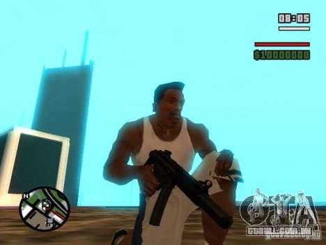 Gangster Weapon Pack para GTA San Andreas sétima tela