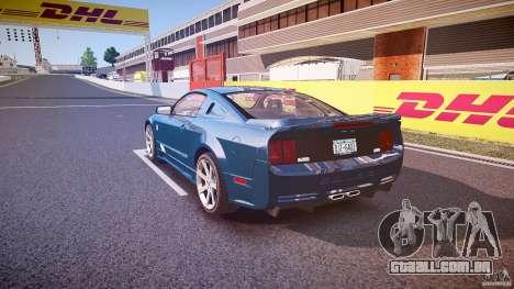 Saleen S281 Extreme - v1.1 para GTA 4 traseira esquerda vista