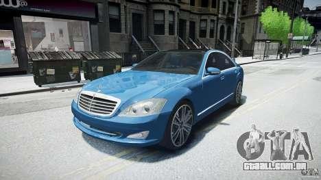 Mercedes Benz w221 s500 v1.0 sl 65 amg wheels para GTA 4