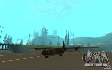 C-130 From Black Ops para GTA San Andreas