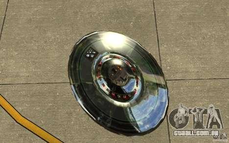 Real UFO para GTA San Andreas vista traseira
