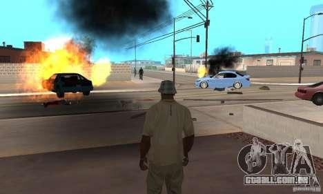 Hot adrenaline effects v1.0 para GTA San Andreas sétima tela