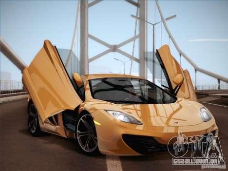 McLaren MP4-12C BETA para GTA San Andreas