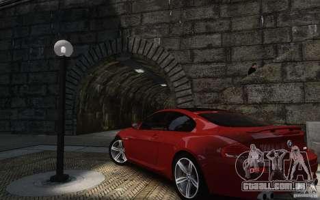 BMW M6 2010 v1.4 para GTA 4 vista de volta