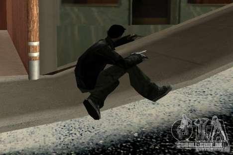 Novas animações de 2012 para GTA San Andreas por diante tela