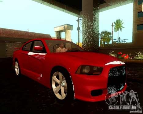 Dodge Charger SRT8 2012 para GTA San Andreas vista direita