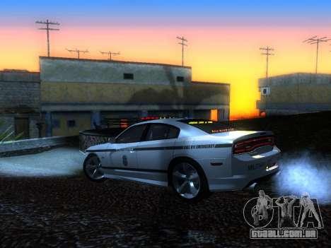 Dodge Charger SRT8 Police para GTA San Andreas esquerda vista