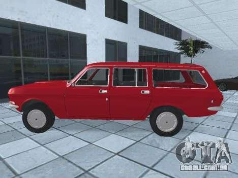 GAZ 24-12 v 2. para GTA San Andreas esquerda vista