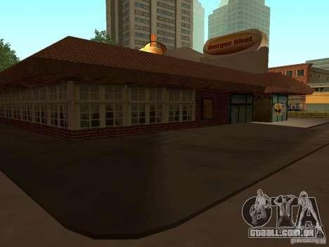 New Burger Shot para GTA San Andreas terceira tela