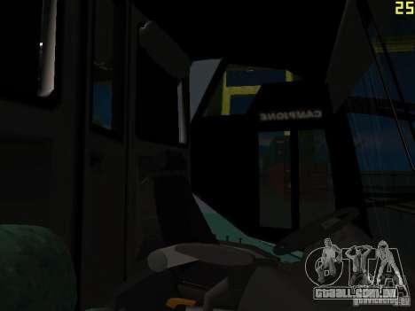 Scania K310 para vista lateral GTA San Andreas