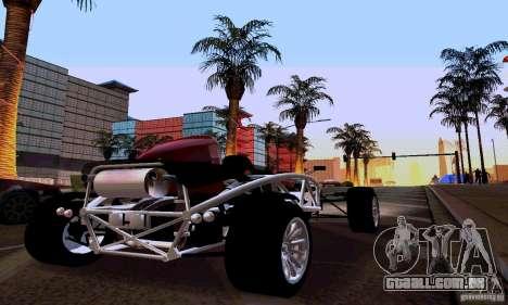 Ariel Atom para GTA San Andreas traseira esquerda vista