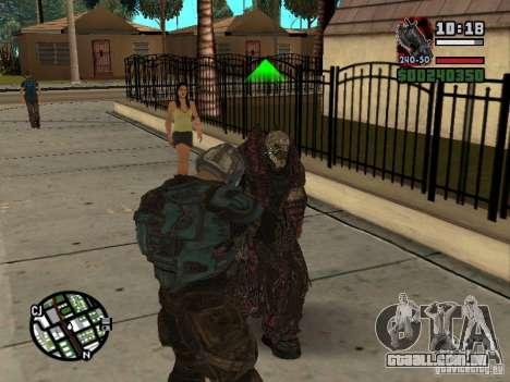 Lokast Theron guarda para GTA San Andreas quinto tela