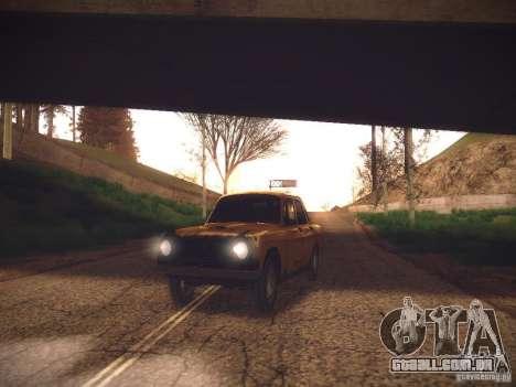 ENB v2 by Tinrion para GTA San Andreas segunda tela
