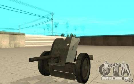 Arma de Regimento, 53-45 mm para GTA San Andreas