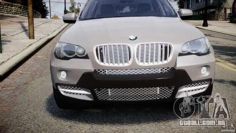 BMW X5 xDrive 4.8i 2009 v1.1 para GTA 4 vista interior