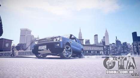 Range Rover Sport para GTA 4 vista direita