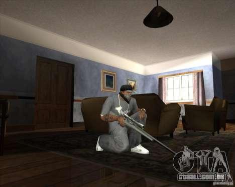 Jarra Mono Arsenal v1.2 para GTA San Andreas twelth tela