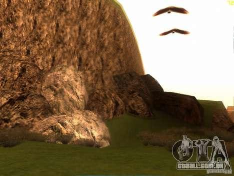 Without the desert para GTA San Andreas por diante tela