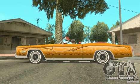 Cadillac Eldorado Convertible 1976 para as rodas de GTA San Andreas