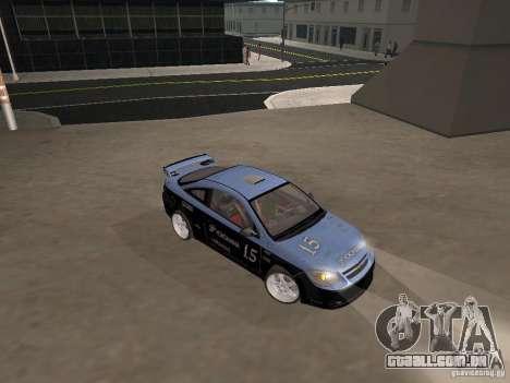 Chevrolet Cobalt Tuning para GTA San Andreas vista traseira